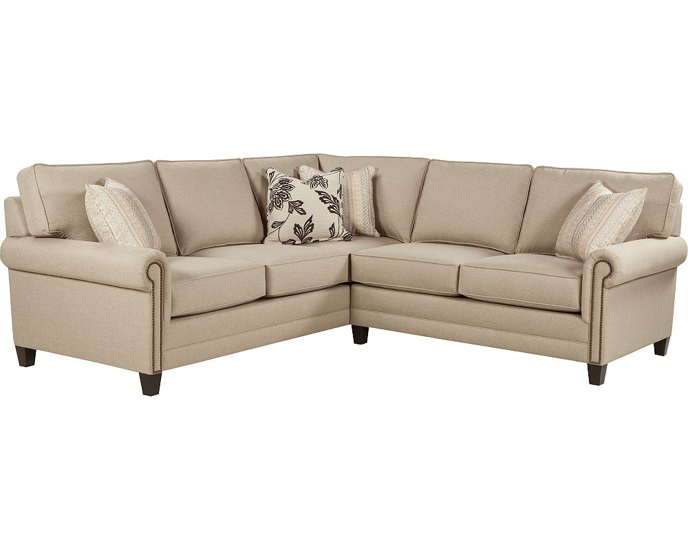 Broyhill sectional sofa broyhill furniture raphael for Broyhill sectional sofa with chaise