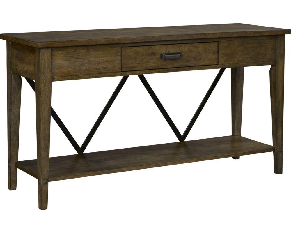 Creedmoor sofa console table for Sofa console