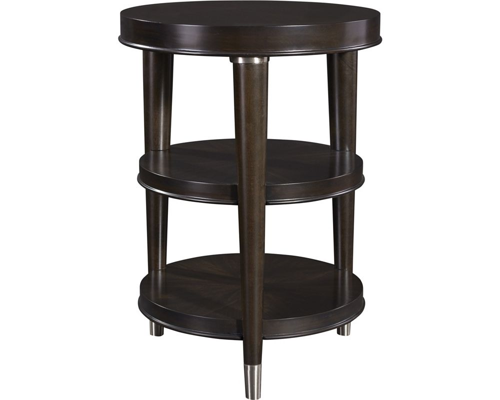 Round Chairside Table Vibe Chairside Table Broyhill Broyhill Furniture