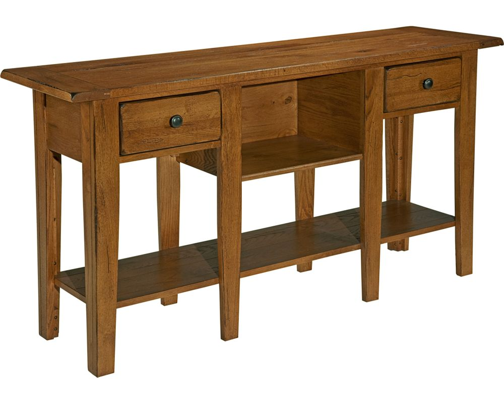 Attic Heirlooms Sofa Table Broyhill