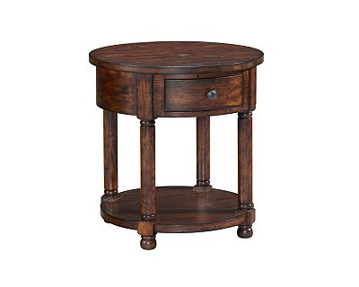 attic heirlooms round end table | broyhill | broyhill furniture