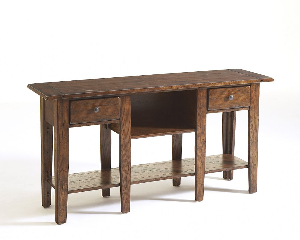 Attic heirlooms sofa table broyhill broyhill furniture geotapseo Gallery