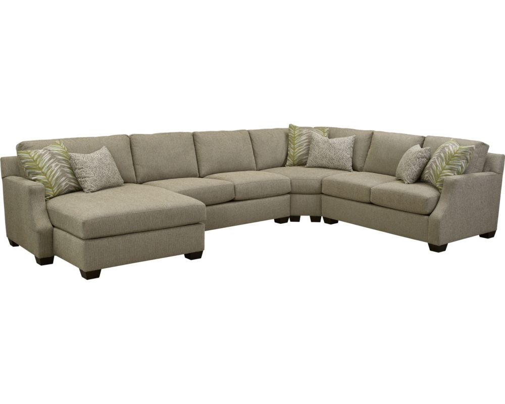 Broyhill sectional sofa with chaise sofa menzilperde net for Chaise couch sectional