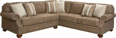broyhill sectional sleeper sofa