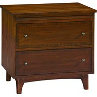 Mardella 2-Drawer Nightstand