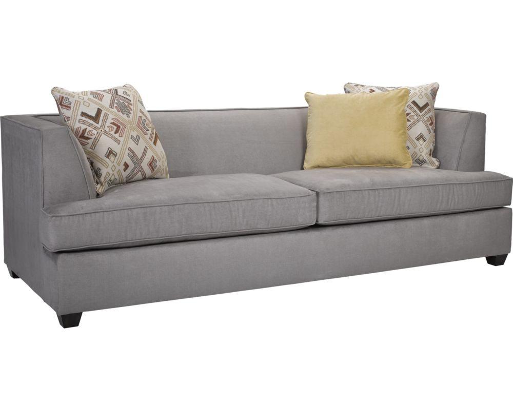 Broyhill Leather Sofa Furniture Broyhill Black Leather