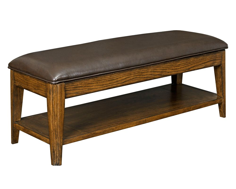 Bedroom benches with storage - Estes Park Upholstered Seat Storage Bench