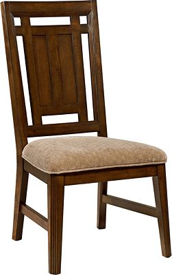 Estes Park Upholstered Seat Side Chair Broyhill