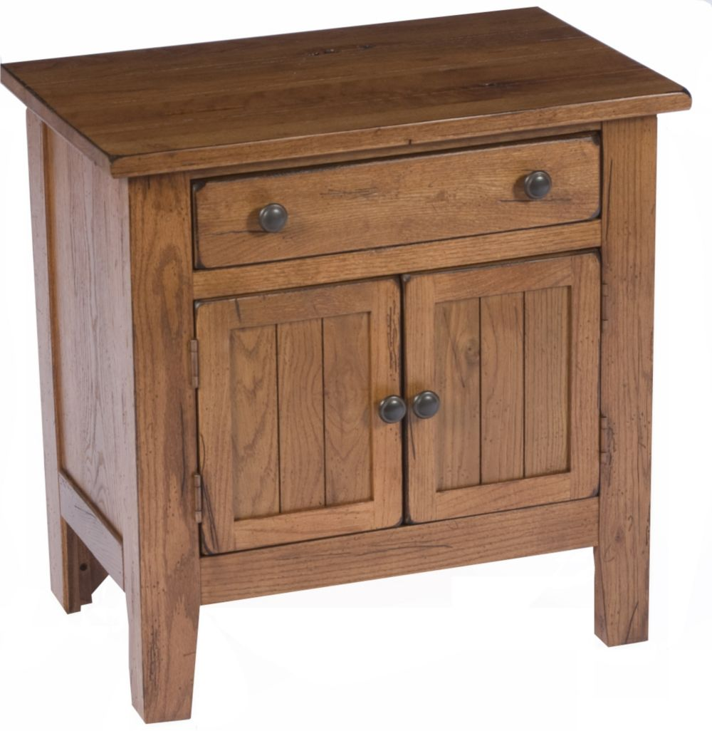 Attic Heirlooms Door Nightstand Broyhill