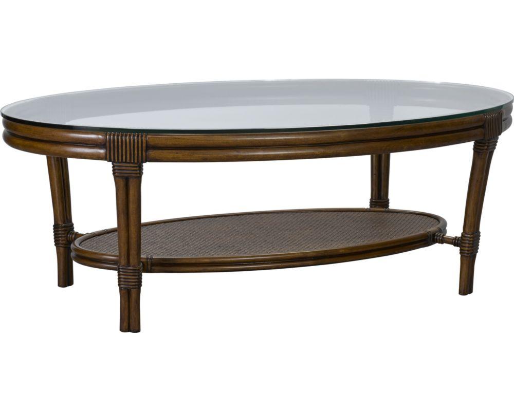 Amalie Bay™ Oval Cocktail Table