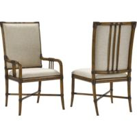 Amalie Bay™ Bamboo Arm and Side Chairs