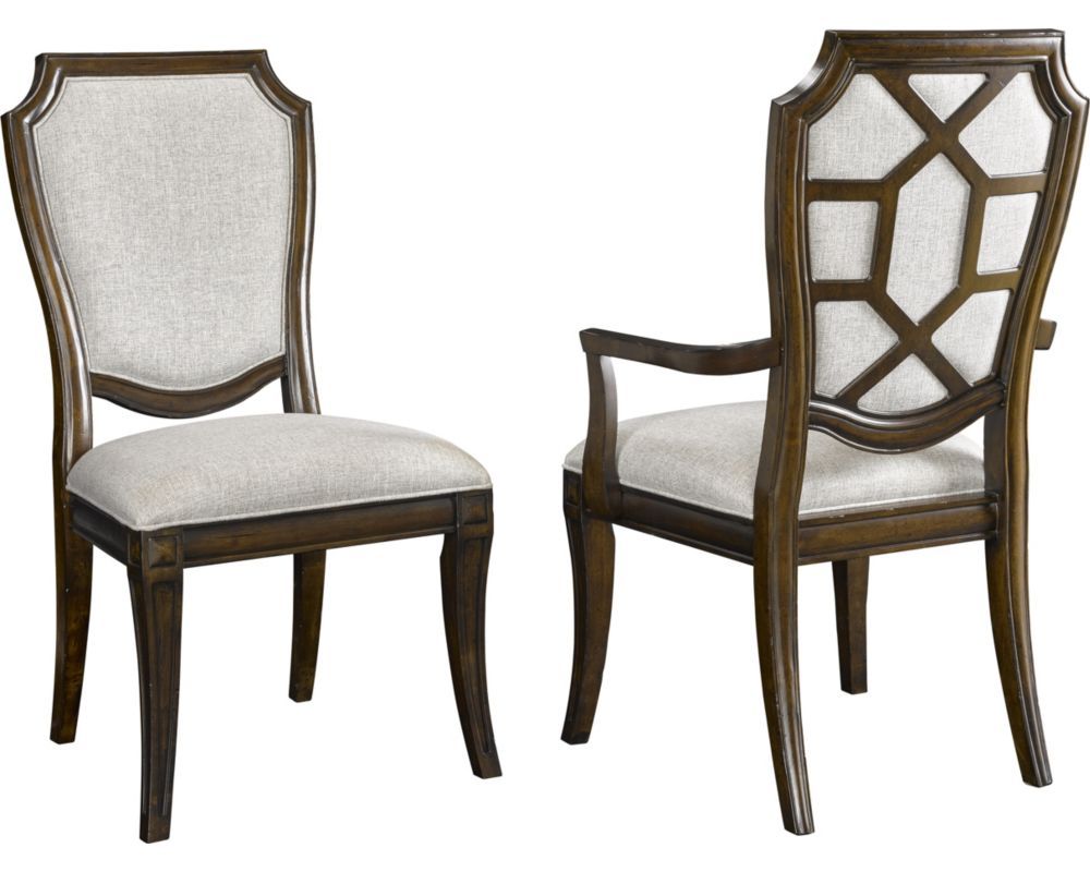New charleston upholstered dining chairs for Latest dining chairs