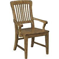 New Vintage™ School House Wood Seat Arm Chair