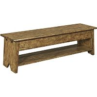 New Vintage™ Lift-Top Storage Bench, Time-Worn Ebony