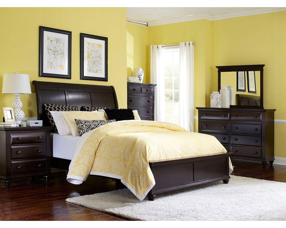 farnsworth landscape dresser mirror broyhill. Black Bedroom Furniture Sets. Home Design Ideas