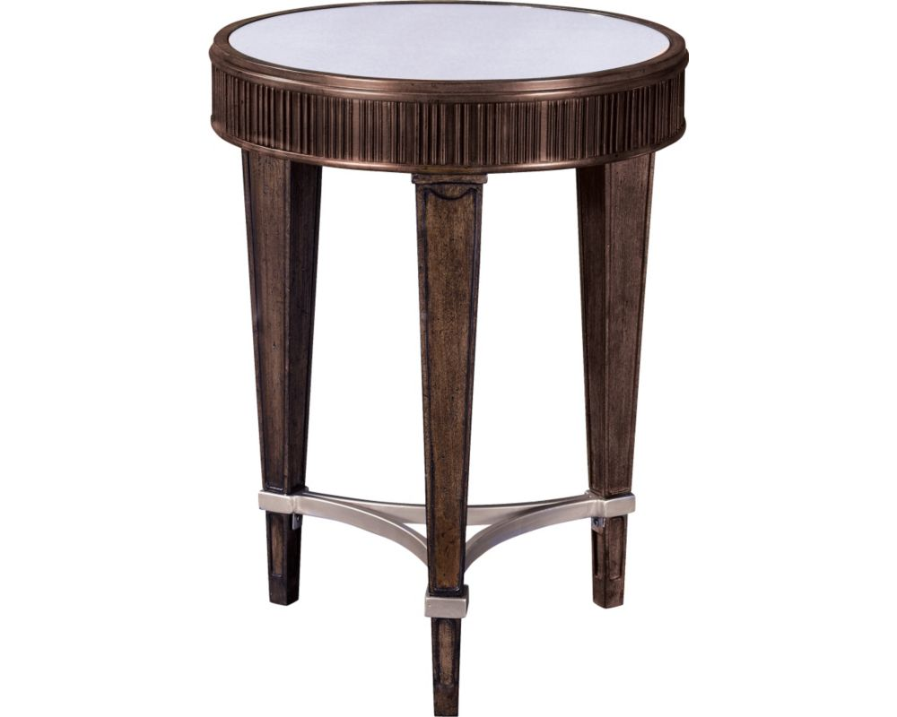 Round Chairside Table Cashmera Round Chairside Table Broyhill Furniture