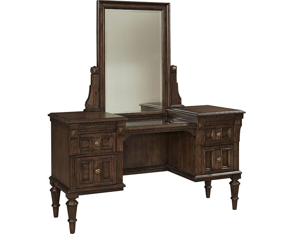 Lyla  Vanity and Stool With Mirror. Lyla  Vanity and Stool With Mirror   Broyhill   Broyhill Furniture
