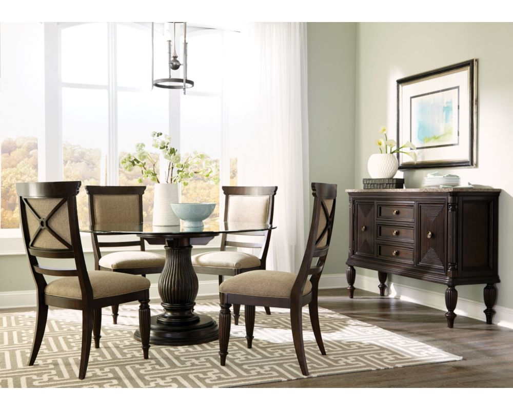 Jessa Dining Table With Adjustable Base | Broyhill | Broyhill ...