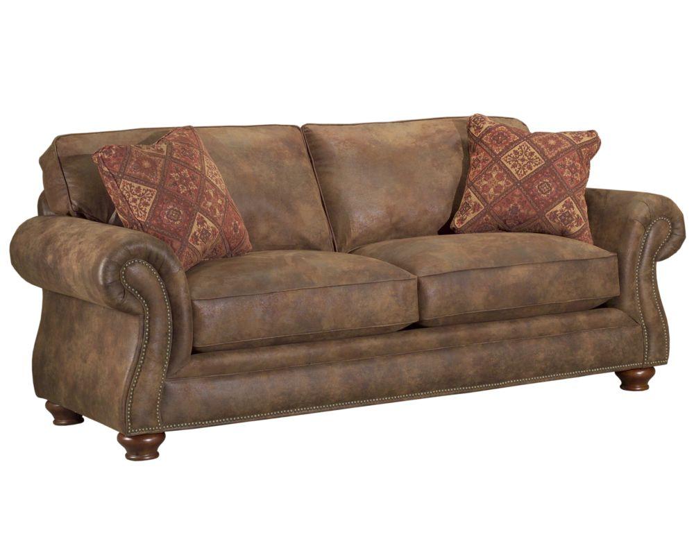 Laramie Sofa Sleeper Queen Broyhill ~ Leather Sleeper Sofa Queen