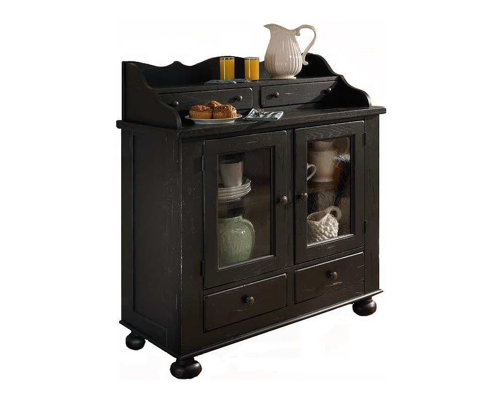Attic Heirlooms Dining Chest Antique Black