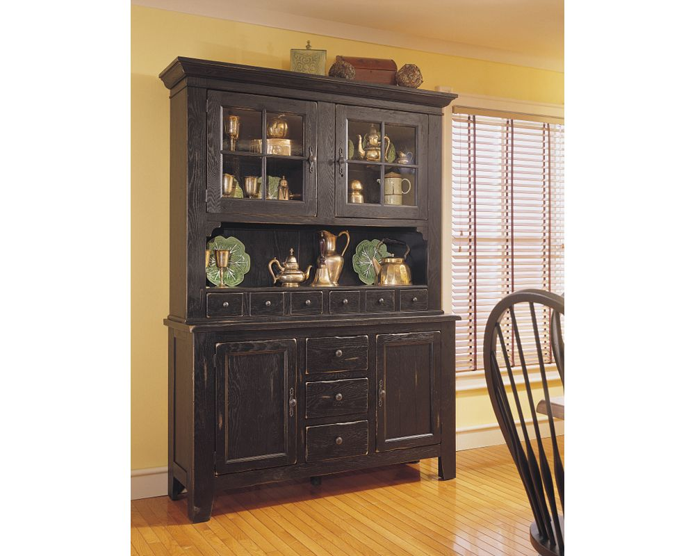 - Attic Heirlooms China Hutch Broyhill