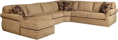 Veronica Sectional Broyhill ~ Sectional Sofa With Wedge