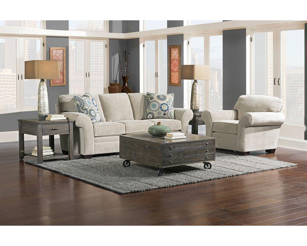 Zachary Sofa Sleeper Queen Broyhill Broyhill Furniture - Broyhill zachary sofa