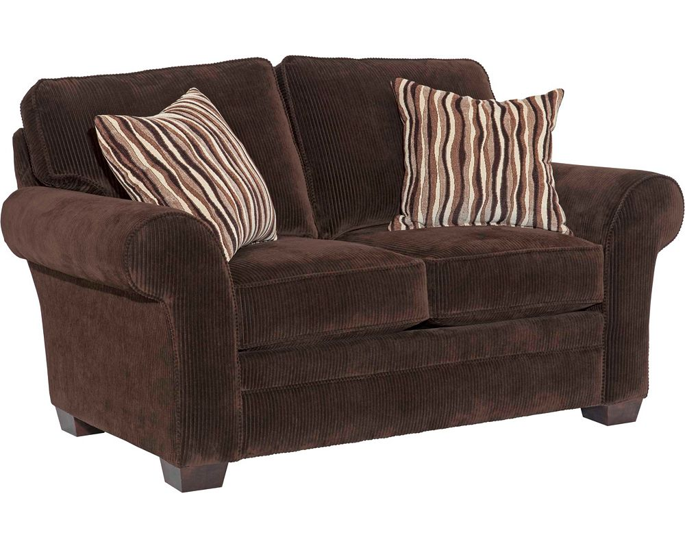 Broyhill zachary sofa traditional textured sofa in for Traditional sofas and loveseats
