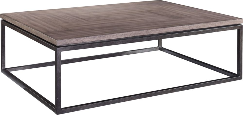 St John s Place Cocktail Table Wood Top