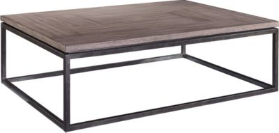 St. Johnu0027s Place Cocktail Table Wood Top