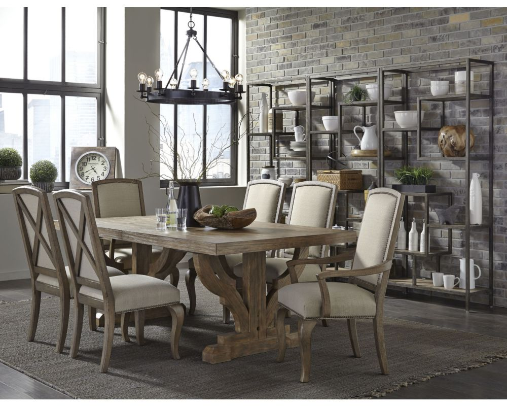 Th Street Architectural Salvage Table Broyhill Furniture - Broyhill farmhouse dining room table