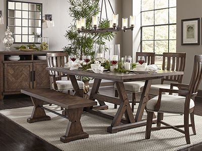 Dining Kitchen Table Sets Broyhill Furniture - Beachwood dining table