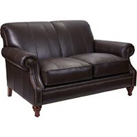 Windsor Leather Loveseat