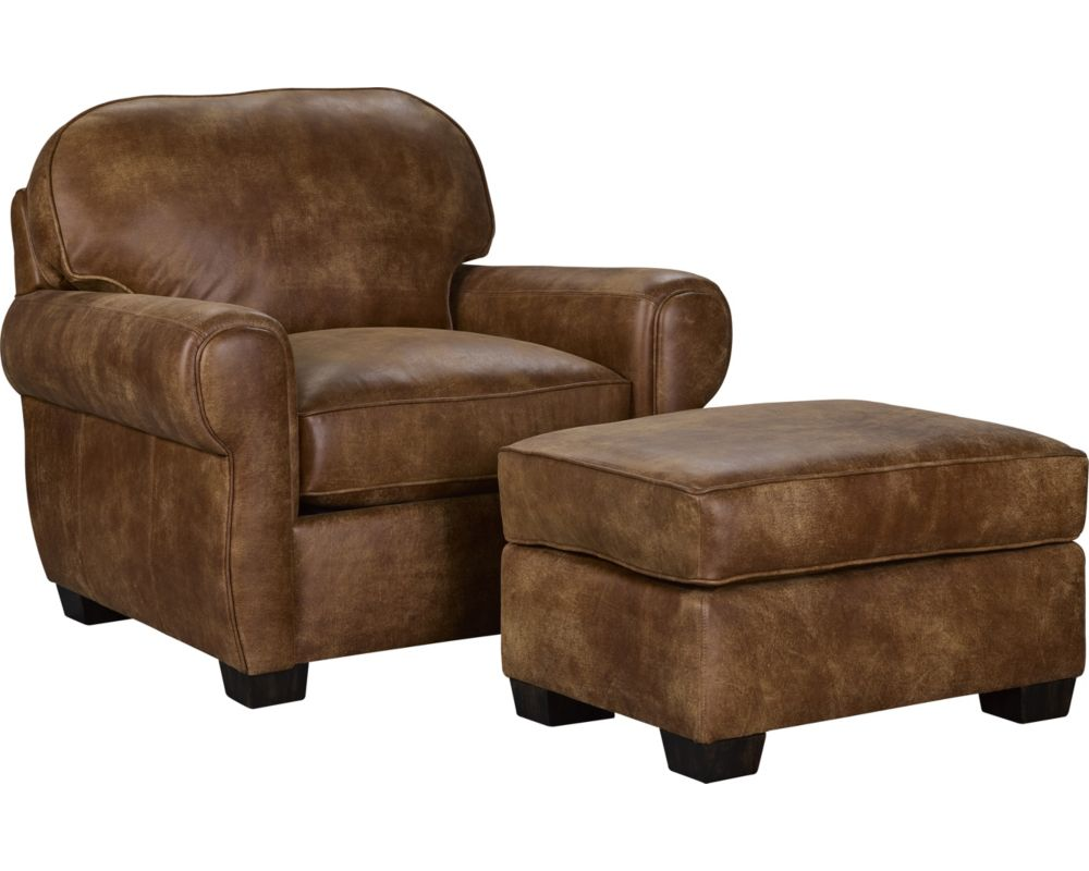 Vedder Chair and Ottoman
