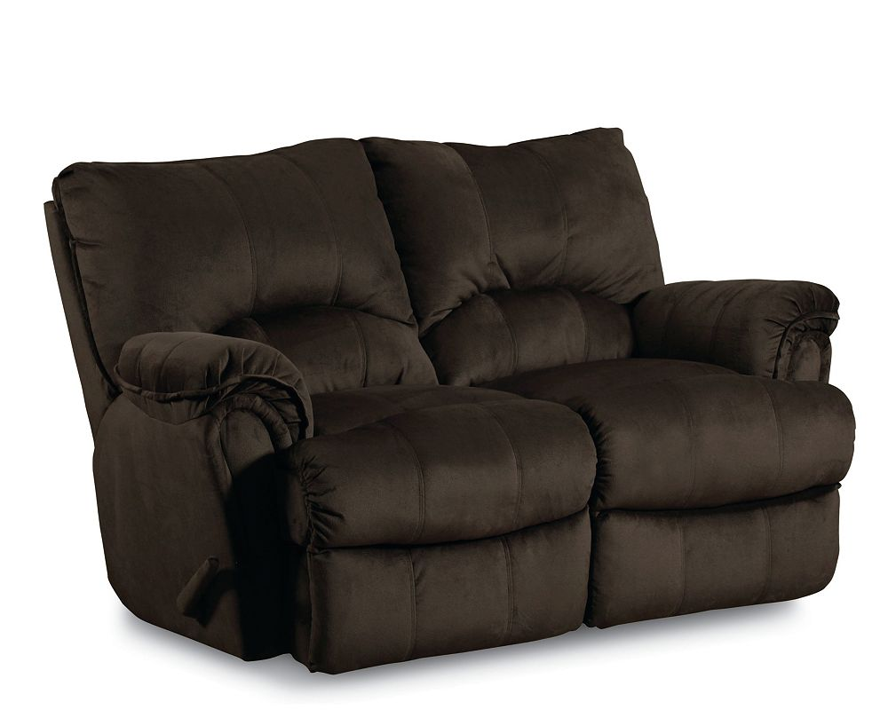 Lane Alpine Double Rocking Recliner Loveseat Power Lane Furniture