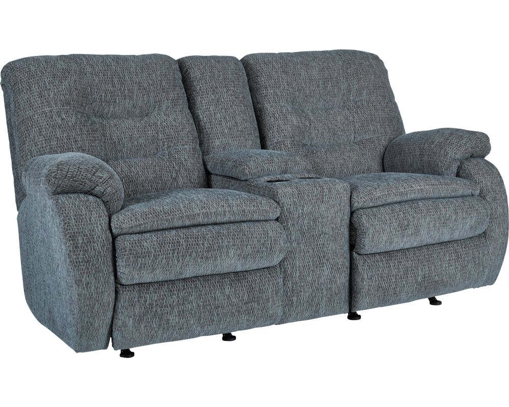 Fresno reclining rocking console loveseat Rocking loveseats