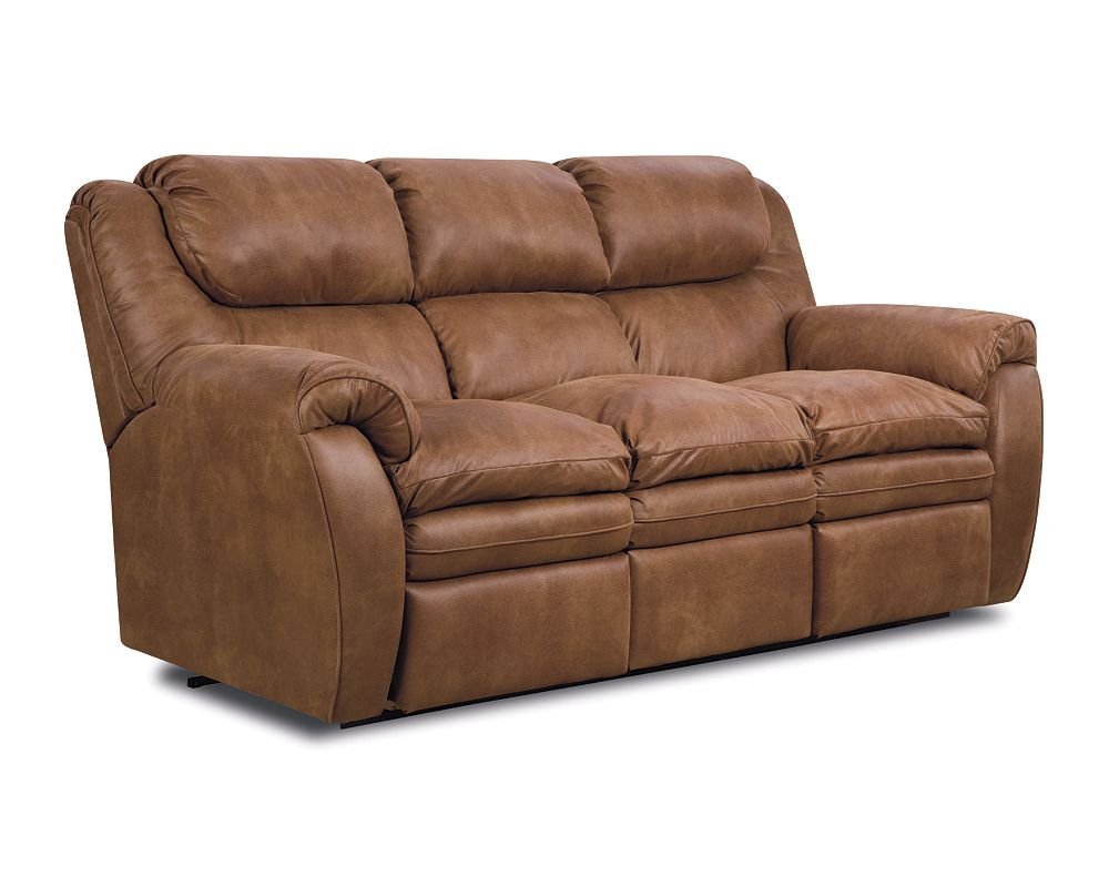 Hendrix Double Reclining Sofa With Storage Drawer