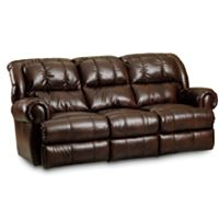 Evans Pad-Over-Chaise Double Reclining Sofa