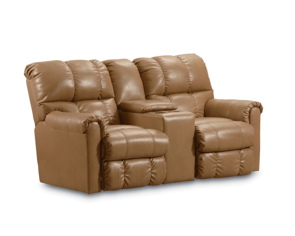 Lane griffin double reclining console loveseat with storage lane furniture Loveseats with console