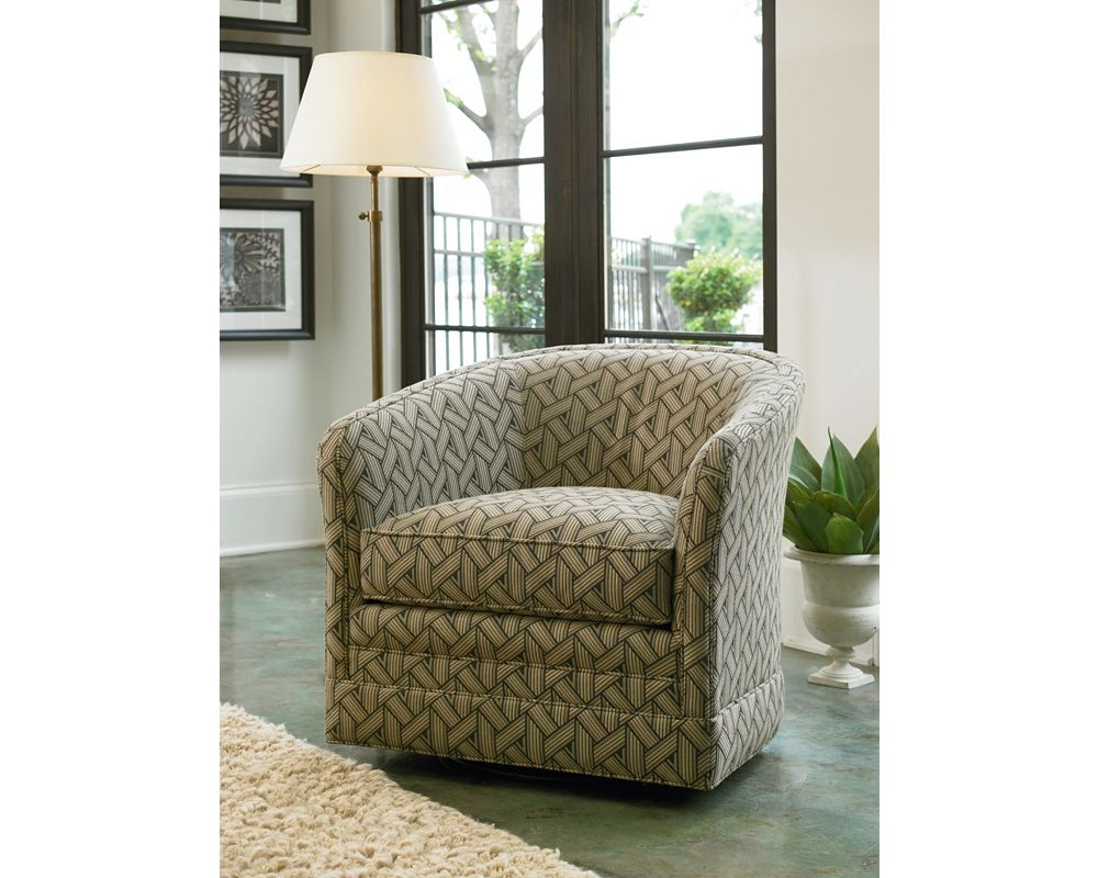 Sutton Swivel Glider Chair Zoom In