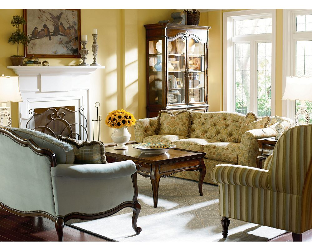 Thomasville Living Room Furniture Rendezvous Sofa Thomasville Furniture
