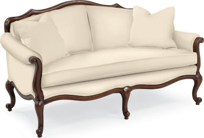 Devereux Settee with Double Welt Trim Living Room Furniture