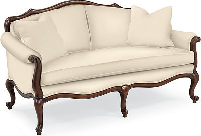 Devereux Settee with Double Welt Trim | Living Room