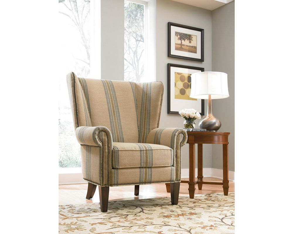 maynard wing chair living room furniture thomasville furniture