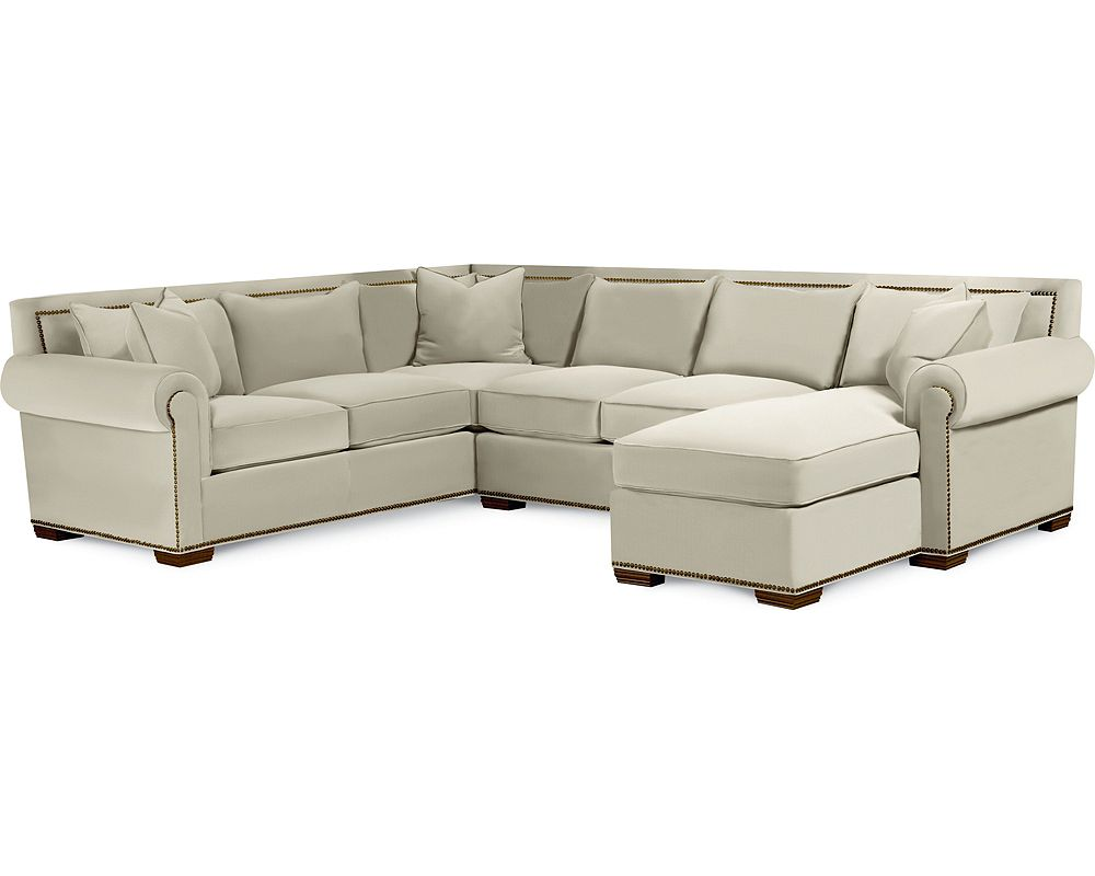 Living Room Sectionals On Fremont Sectional Living Room Furniture Thomasville Furniture
