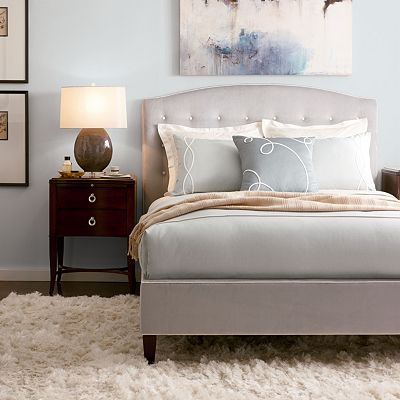 klein with button tuft bed thomasville furniture
