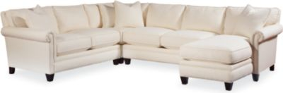 Bon Mercer Sectional (Panel Arm)
