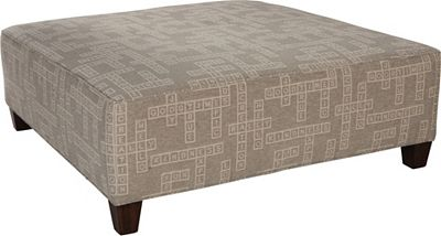 40 Inch Square Ottoman Zef Jam
