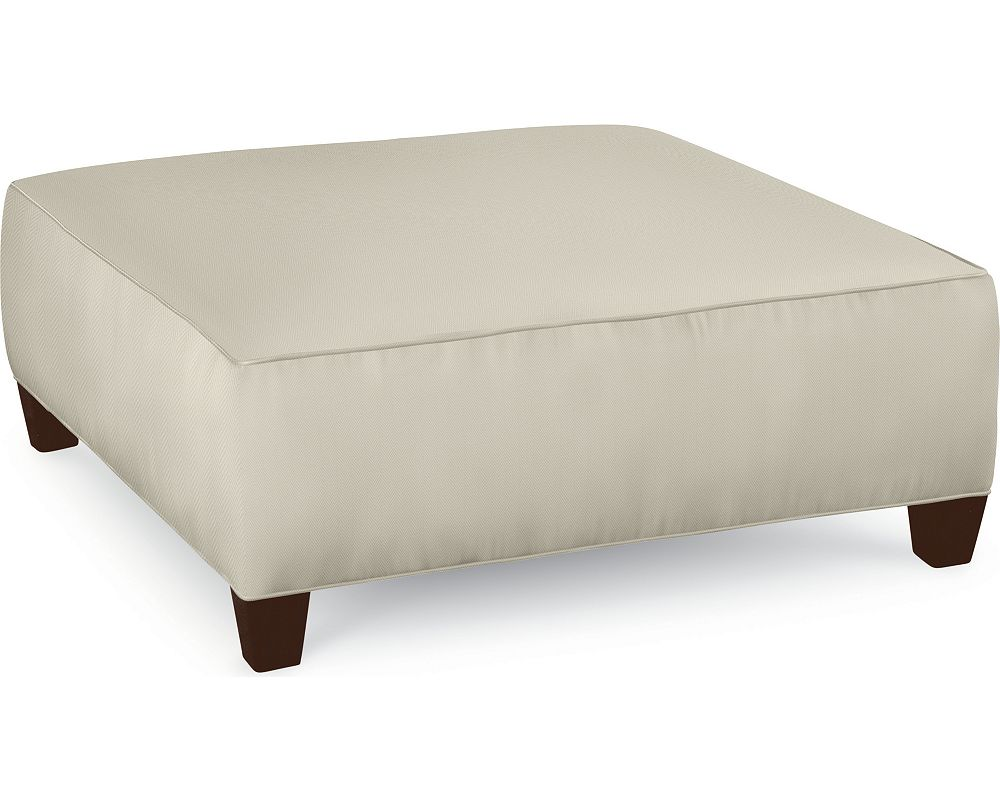Brooklyn Square Plain Top Ottoman (No Nails)