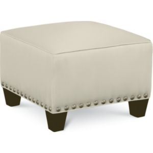 Brooklyn Square Plain Top Ottoman (#52 Nails)